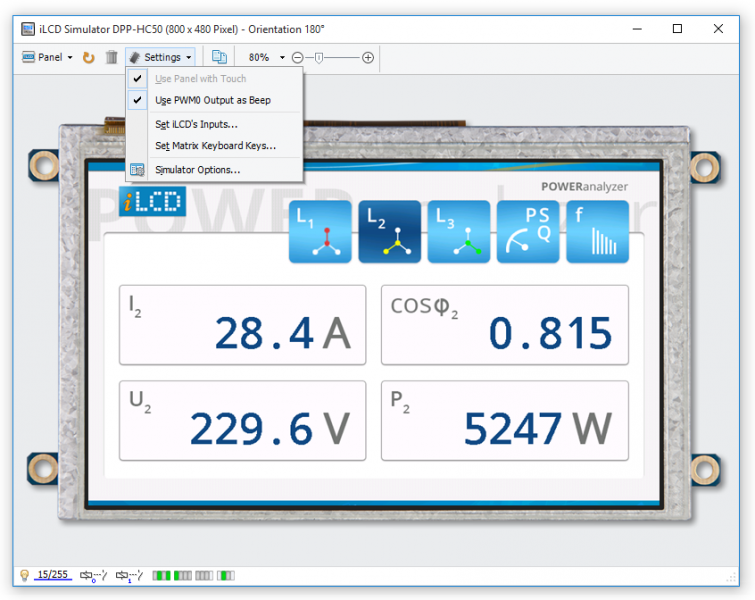 iLCD Manager XE - Version 3.0 includes the iLCD Simulator