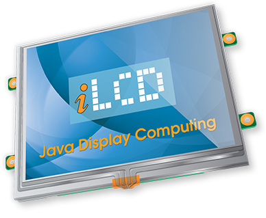iLCD with Embedded Java Virtual Machine